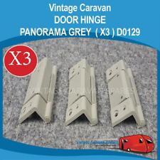 Caravan DOOR HINGE PANORAMA  ( GREY X 3 )   Vintage Viscount Franklin D0129
