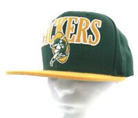 NFL VINTAGE Green Bay Packers Mitchell   Ness GB Logo Snapback Trucker Hat  Cap 2763d587ded3
