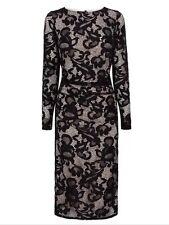 BNWT🌹COAST🌹Size 12 CORALLA BLACK FLORAL LACE FITTED PENCIL DRESS (40 EU) New