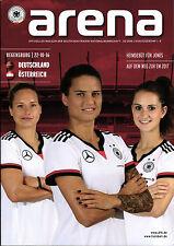 Frauen-Länderspiel 22.10.2016 Deutschland - Österreich, arena 3/2016, Regensburg