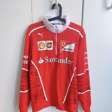 Puma Ferrari Team Half-Zip Sweatshirt (Size M)