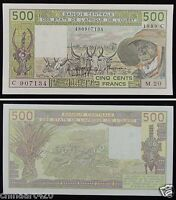 WEST AFRICAN STATES Burkina Faso (C) Banknote 500 Francs 1989 UNC