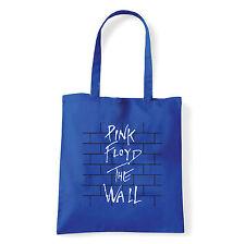 Art T-shirt, Borsa  Pink Floyd The Wall, Blu, Shopper, Mare