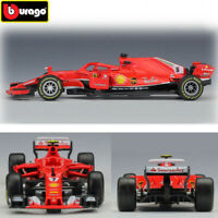 F1 Racing Cars 2018 1:43 FERRARI SF71H SF16H Kimi Räikkönen Diecast Car Model