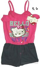 Romper Nike Hello Kitty Creeper Bodysuit 1 Pc Girls Play Short Summer Outfit