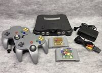 Nintendo 64 N64 System Console Game Bundle Lot Super Mario And Zelda