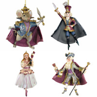 Nutcracker Suite Ballet Kurt Adler Resin 4 Piece Set Christmas Ornament Clara...