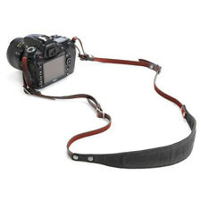 Ona Lima Waxed Canvas and Leather Camera Straps (Black) - New Free Ship