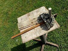 vtg antique Miter Gauge 10'' Craftsman Bench Table Saw band saw belt sander tool