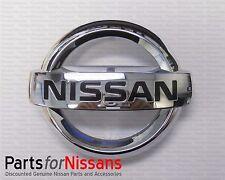 Genuine Nissan Front Grille Emblem 2013-2015 Sentra 2011-2015 Juke NEW OEM