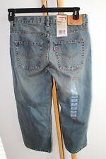 Levi's Levi Denim Boys 550 relaxed jeans Pants Size 8 Husky NWT NEW