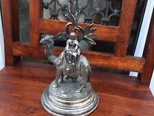James Deakin & Sons Antique Arab Trader on Camel Candlestick Holder