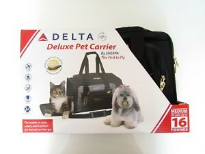 Pet Carrier- Delta Deluxe by Sherpa, medium up to 16 lbs       ~~PRICE REDUCED~~