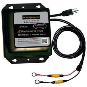 Dual Pro Professional Series 15a 1-Bank Battery Charger #PS1