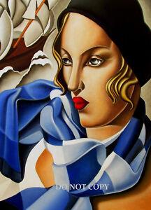 ART DECO TAMARA DE LEMPICKA 1920s 30s A4 GLOSSY PHOTO POSTER PRINT #4