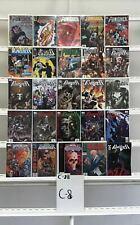 Punisher Marvel 25 Lot Comic Book Comics Set Run Collection Box2