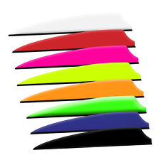"Fusion X-II Arrow Vanes 3.0"" Mix/Match 8 colors Pkg of 50"