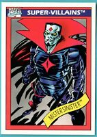 1990 Impel Marvel Universe Super-Villains #65 Mr. Sinister