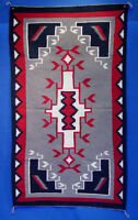 """Navajo Crystal Region Rug c.1980 Mint condition, fine and tight weave 67"""" x 36"""""""