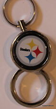 Pittsburgh Steelers Key Ring NFL Sports Official Licensed Football Twist up Ring