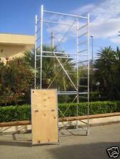 Trabattello Ferro TERNO-1 con Piano di Lavoro con Botola (h lavoro 4,70 m)