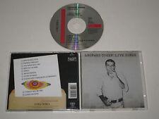 LEONARD COHEN/LIVE CHANSONS (COLUMBIA 484454 2) CD ALBUM