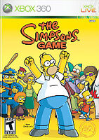 The Simpsons Game (Microsoft Xbox 360, 2007) Complete