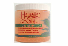 HAWAIIAN SILKY HAIR GEL ACTIVATOR NATURAL SHINE 16 OZ.
