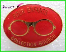 Pin's Monture lunette Pour Enfant Collection Boubou Rouge #H1