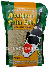 KOCKNEY KOI WHEATGERM FLOATING PELLETS 500G 1KG 2KG 20KG 3MM 6MM FISH FOOD POND