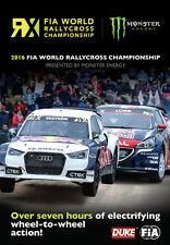 FIA World Rallycross 2016 (2 Disc) DVD