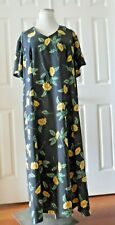 Maggie Sweet Women Dress Maxi Black With Floral Size Plus 2X