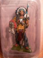 1/32  Sitting Bull Hobby & Work Indian Chief Figure INAH001 Die Cast Metal