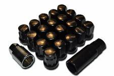Rays Volk JDM Style 17 Hex Closed End Wheel Lug Nuts & Lock Set | Size: 12x1.25