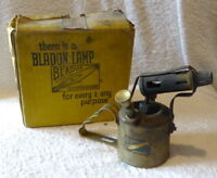 Vintage Bladen Blow Lamp in original box, stored for many years