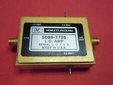 Hp 8569b Spectrum Analyzer Local Oscillator Amplifier Pn 5086 7725