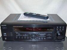 Sony STR-DE 485E Digital-RDS-Heimkino-Receiver mit Anleitung und Fernbedienung