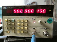 Hp 5342a Frequency Counter 10hz To 500 Mhz Only