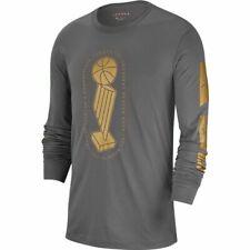 Nike Air Jordan Remastered Champion Trophy Long sleeve Shirt Grey Gun smoke/Gold