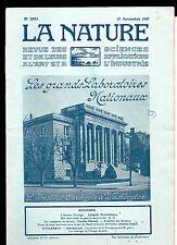 La Nature N° 2303 - Nov. 2017- Revue des sciences - L'Institut Carnegie