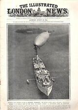 1924 London News August 30 -Opium controversy;Zeppelin ZR-3;Sudan fires on Egypt