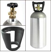 10 LB Aluminum Co2 Cylinder Tank Cga320 Valve - Empty Draft Soda Beer Kegerator
