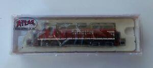N-Scale Burlington #48521 - GP-40 Locomotive #639