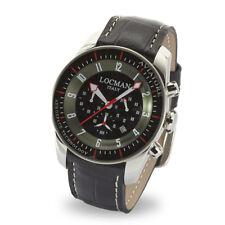 Locman Locman Italy Herrenuhr Aviatore Chronograph Titanium schwarz Ref. 045000
