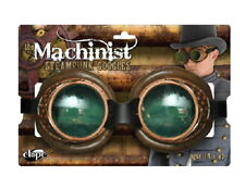 SteamPunk Machinist Style Cyber Cosplay Victorian Goggles NEW UNUSED