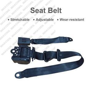 For Toyota 3-Point Universal Safety Seat Belt Black Seatbelt Strap Retractor