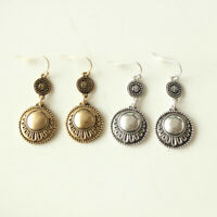 New Chicos Floral Drop Dangle Earrings Gift Vintage Women Jewelry 2Colors Chosen