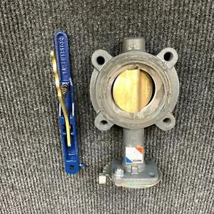 Nibco LD-2000-3 3-Inch Ductile Iron EPDM Seat Lug Style Butterfly Valve 200 PSI