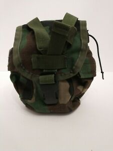 AUTHENTIC USGI Woodland MOLLE II Canteen Pouch Carrier/Utility F205411