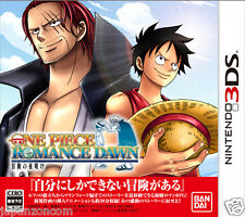 Used One piece  ROMANCE DAWN   NINTENDO 3DS JAPANESE  IMPORT